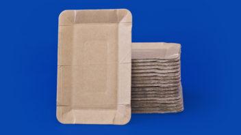 Тарелки картонные